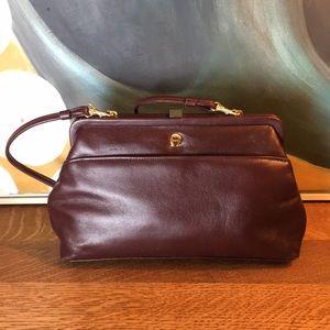 Vintage Etienne Aigner Leather Crossbody Handbag